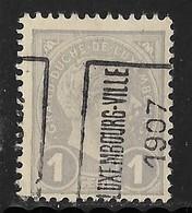 Luxembourg 1907  Prifix Nr. 33A - Precancels