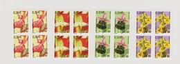 FRANCE 2002-2003 BLOC DE 4 Pré Oblitérés Orchidées N°YT 244 à 247 Neuf - 1989-....