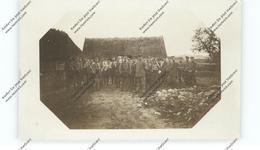 BELARUS / WEISSRUSSLAND - MALYSHI Bei Baranowitschi, 1917, Photo-AK, Deutsche Soldaten, Konzert - Weißrussland