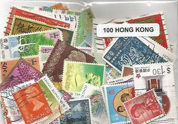 Lot 100 Timbres De Hong Kong - Hong Kong (1997-...)