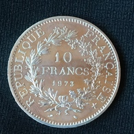 10 F 1973 Hercule Argent Rare - France