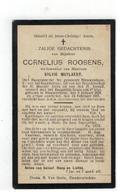 DP CORNELIUS ROOSENS Oud-Burgemeester Geb.Nieuwenhove 1829,wedn. V. SYLVIE MUYLAERT, Gestorven  1915 - Religion & Esotérisme