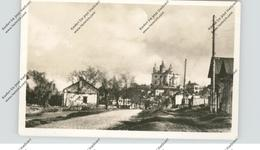 RU 214000 SMOLENSK, 2. Weltkrieg, Kasernenstrasse Mit Kathedrale - Russland