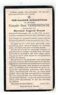DP François-René VANDENBUSSCHE, Oud-Schepene Geb.Poperinge 1848,echtgen.v Eugenie Brunet, Gestorven Stavele 1929 - Religion & Esotérisme