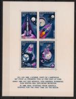 Dahomey - 1970 - Bloc-feuillet BF N°Yv. 17 - Apollo / Man On The Moon - Neuf Luxe ** / MNH / Postfrisch - Benin – Dahomey (1960-...)