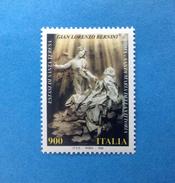 1998 ITALIA ARTE BERNINI FRANCOBOLLO NUOVO ITALY STAMP NEW MNH** - 1991-00:  Nuovi