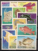 Guinée - 1980 - N°Yv. 659 à 670 - Poissons - Neuf Luxe ** / MNH / Postfrisch - Guinea (1958-...)