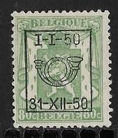 België  Typo Nr.  603 - Typo Precancels 1936-51 (Small Seal Of The State)