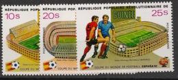 Guinée - 1982 - Poste Aérienne PA N°Yv. 145 à 147 - Football World Cup Espana 82 - Neuf Luxe ** / MNH / Postfrisch - Guinea (1958-...)
