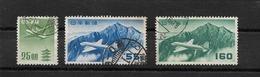 JAPON / POSTE AERIENNE / LOT DE 3  Timbres Oblitérés -YT PA N° 14, 27 Et 32 - Posta Aerea