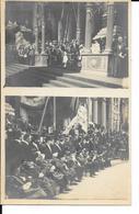 Fêtes De L'Indépendance - Photo Carte - La Tribune Royale - Les Derniers Combattants De 1830 - 21 Juillet Place Poelaert - Personen