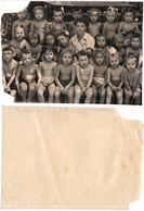 1958 Original 19x14cm Old Photo Vintage Teenager Child Girl Boy Pin Up NU Pants Woman USSR Russia (6333 - Pin-Ups