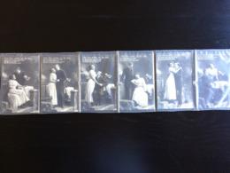 LOT De 6 Cpa Fantaisie 1911 - Phantasie