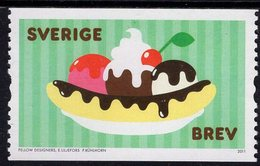 Sweden - 2011 - Ice Cream - Mint Coil Stamp - Nuevos