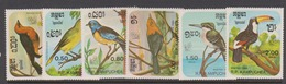 Cambodia Scott 613-18 1985 Birds, Mint Never Hinged - Birds