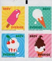 Sweden - 2011 - Ice Cream - Mint Self-adhesive Booklet Stamp Set - Nuevos