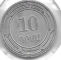 *Armenia 10 Drams 2004 Km 112  Bu/ms65 - Armenia