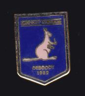 60981-Pin's-Kangourou.entreprise Deboddy Electronique Composants. - Animaux