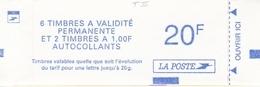 1510 COMPOSITE MAR. LUQUET Type II - Muet - Carnet Fermé - Booklets