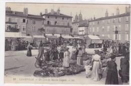 Meurthe-et-Moselle - Lunéville - Un Coin Du Marché Léopold - Luneville