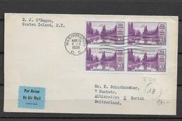 1934 USA Mi 366B - Briefe U. Dokumente