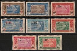 Côte D'Ivoire - 1924-27 - N°Yv. 73 à 80 - Série Complète - Neuf * / MH VF - Ongebruikt