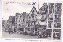 Blankenberge Villas Et Hotels - Blankenberge