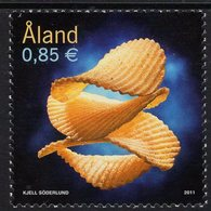 Aland - 2011 - Potato Chips - Mint Stamp - Aland