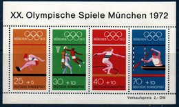 RFA 1972   Jeux Olympiques De Munich   BF N°YT 8 ** MNH - [7] Federal Republic