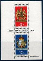 RFA 1973   Exposition IBRA à Munich   BF N°YT 9 ** MNH - [7] Federal Republic