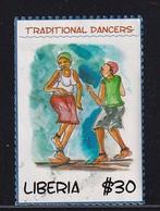 Liberia , Traditional Dancers, Used, Short Perfs - Liberia