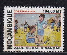 Mozambique 2016, Used, (stamp Has A Fold Upper Left Corner) - Mozambico