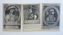 3 CPA - Jeanne D'arc - Collection De Portraits - Ansichtskarten