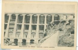 Sardegna; Sbarramento (Diga) Del Tirso. Centrale E Scarico Paratoie - Non Viaggiata. (Efisio Meloni - Abbasanta) - Non Classés