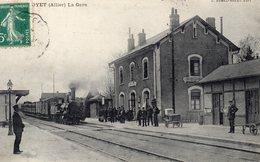 S  3   -   030    -      DOYET     -      ( 03 )       -                  La  Gare  - - Autres Communes