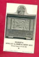 C.P. Brugelette =  Mémorial 1914-1918  Orphelinat  Des Soeurs De L' Enf&ant  Jésus - Brugelette
