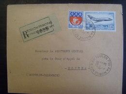 18128- Lettre Recommandée (au Tarif) Obl. Du 5/9/1967 De Toulon Ppal Annexe Mobile N° 1 (Var) - Poststempel (Briefe)