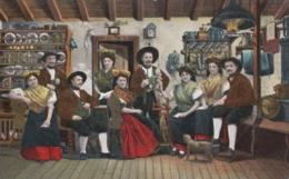 AK - Tschechien - Gruss Aus Dem Egerland - Hutzastube - Tschechische Republik