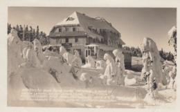 AK - Tschechien - Riesengebirge - Neue Schwarzschtagbaude Im Winterkleid - 1930 - Tschechische Republik