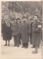 Orig. Foto - Mit Figl -Maisel - Kauders - Aufbruch Nach Brüssel - 1947 - Persönlichkeiten