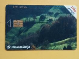 T7 - TELECARD SERBIA, CHIP TELECOM - POVLEN - Joegoslavië