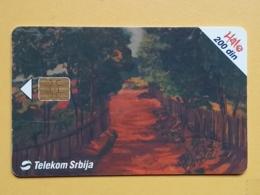 T7 - TELECARD SERBIA, CHIP TELECOM - MODERN ART PAINTING, MUSEUM, MUSEE BELGRADE - Joegoslavië