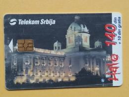 T7 - TELECARD SERBIA, CHIP TELECOM - ASSENBLY - Joegoslavië