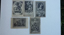 5 CPA  - Jeanne D'arc - Collection De Portraits Anciens - Ansichtskarten