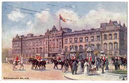 6492 - London ( R.U. ) - Buckingham-Palace - Raphaël Tuck And Sons - ( Cp Signée Gilette ) - Buckingham Palace