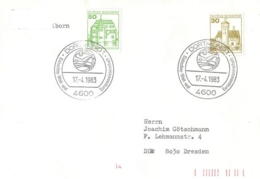 5260  Championnat Du Monde De Hockey Sur Glace 1983, Allemagne -  Ice Hockey World Championship: Sp.cancel From Germany - Eishockey