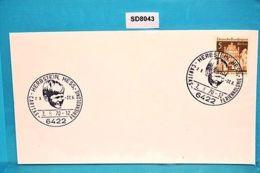 SD8043 Caritas-Ferienkolonie 1970, Kind, 6422 Herbstein DE 7.8.1970 - Machine Stamps (ATM)