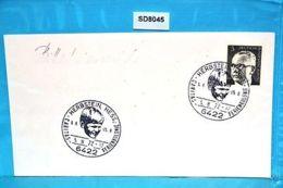 SD8045 Caritas-Ferienkolonie 1972, Kind, 6422 Herbstein DE 5.8.1972 - Machine Stamps (ATM)