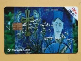 T8 - TELECARD SERBIA, CHIP TELECOM, KRAJPUTASI, RELEF - Joegoslavië