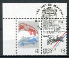 (B) 2327 MNH** FDC 1989 - 200 Jaar Rechten Van De Mens. - België